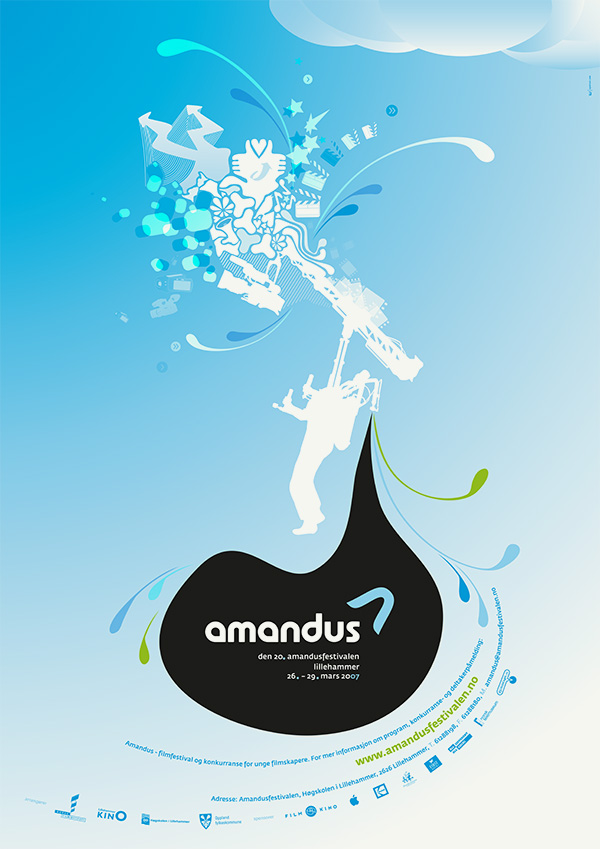 Amandus Film Festival Poster 2007 by upstruct