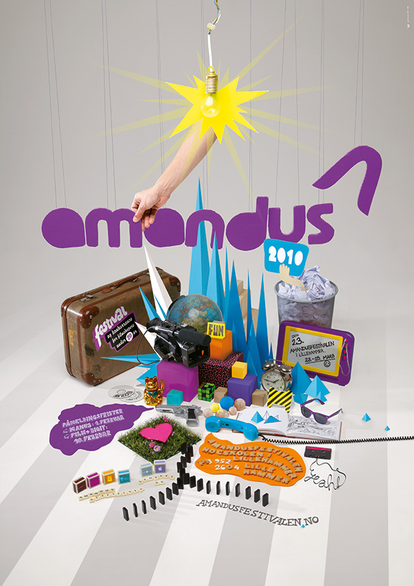 Amandus Film Festival Poster 2010 by upstruct