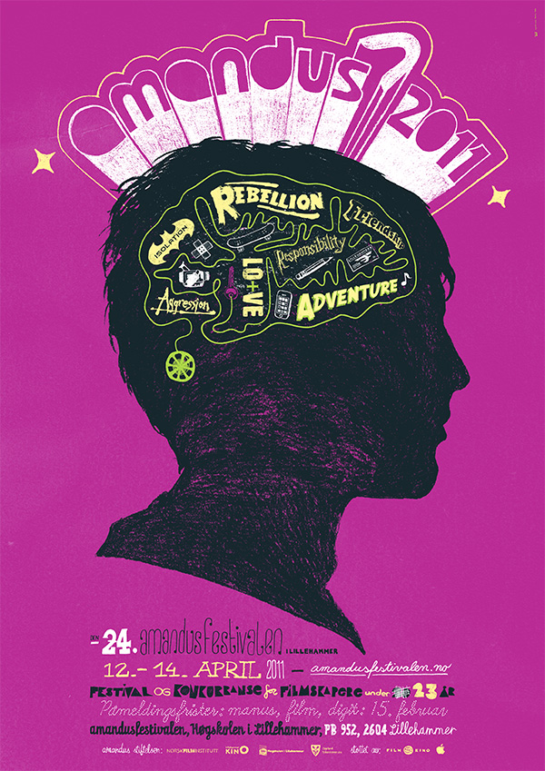 Amandus Film Festival 2011 - Poster by upstruct