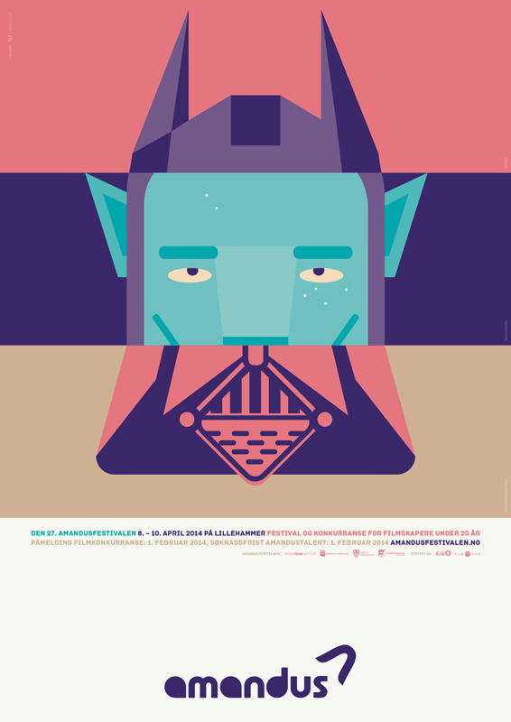 amandus film festival 2014 poster by upstruct