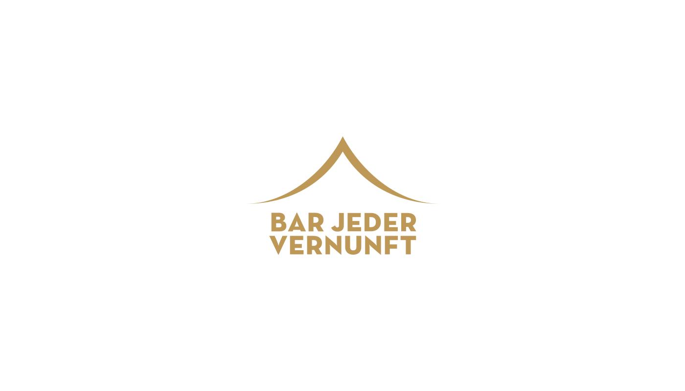 Bar Jeder Vernunft logo by upstruct