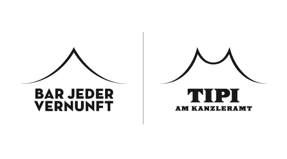 Bar Jeder Vernunft & Tipi Am Kanzleramt Logos by upstruct