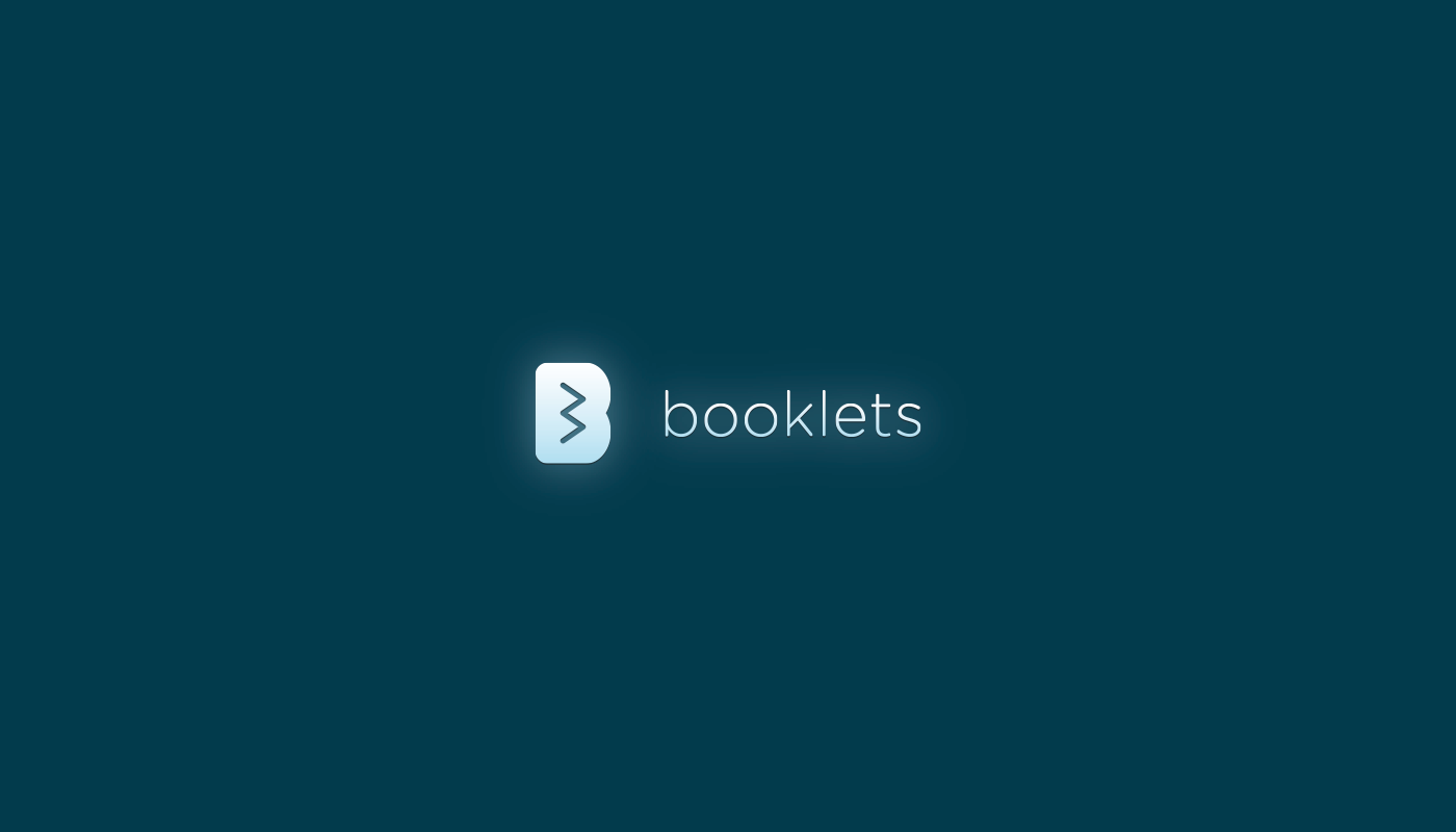 Booklets logo by upstruct
