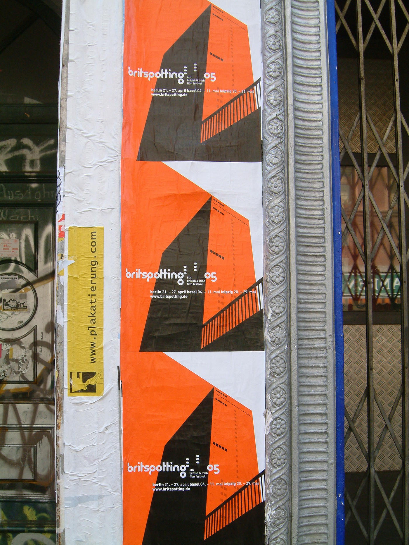 Britspotting Film Festival Design by upstruct