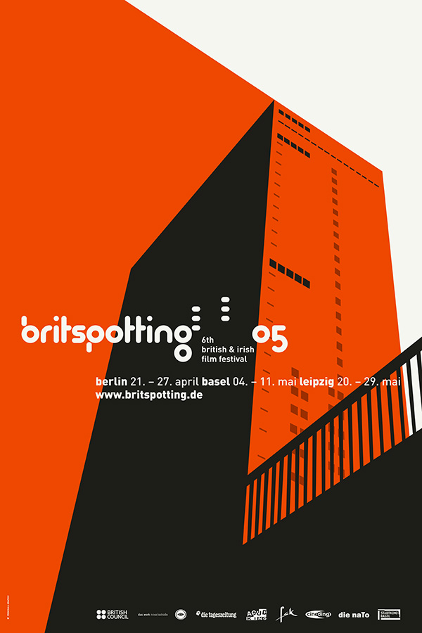 Britspotting Film Festival Design by upstruct