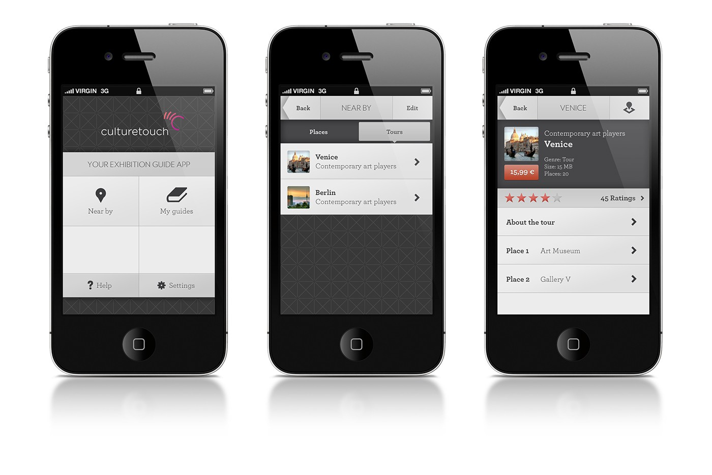 culturetouch App by upstruct