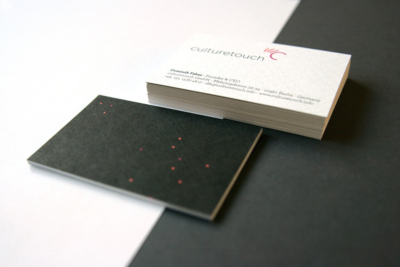 culturetouch Businesscards by upstruct