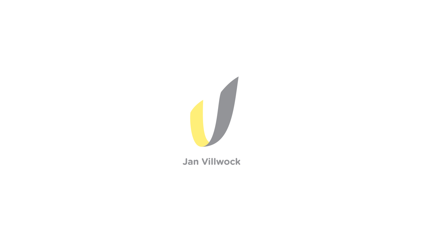 Jan Villwock logo by upstruct