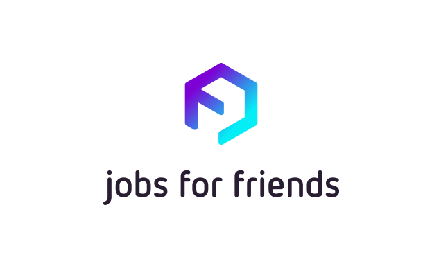 Jobs For Friends - Logo Brand Design by upstruct