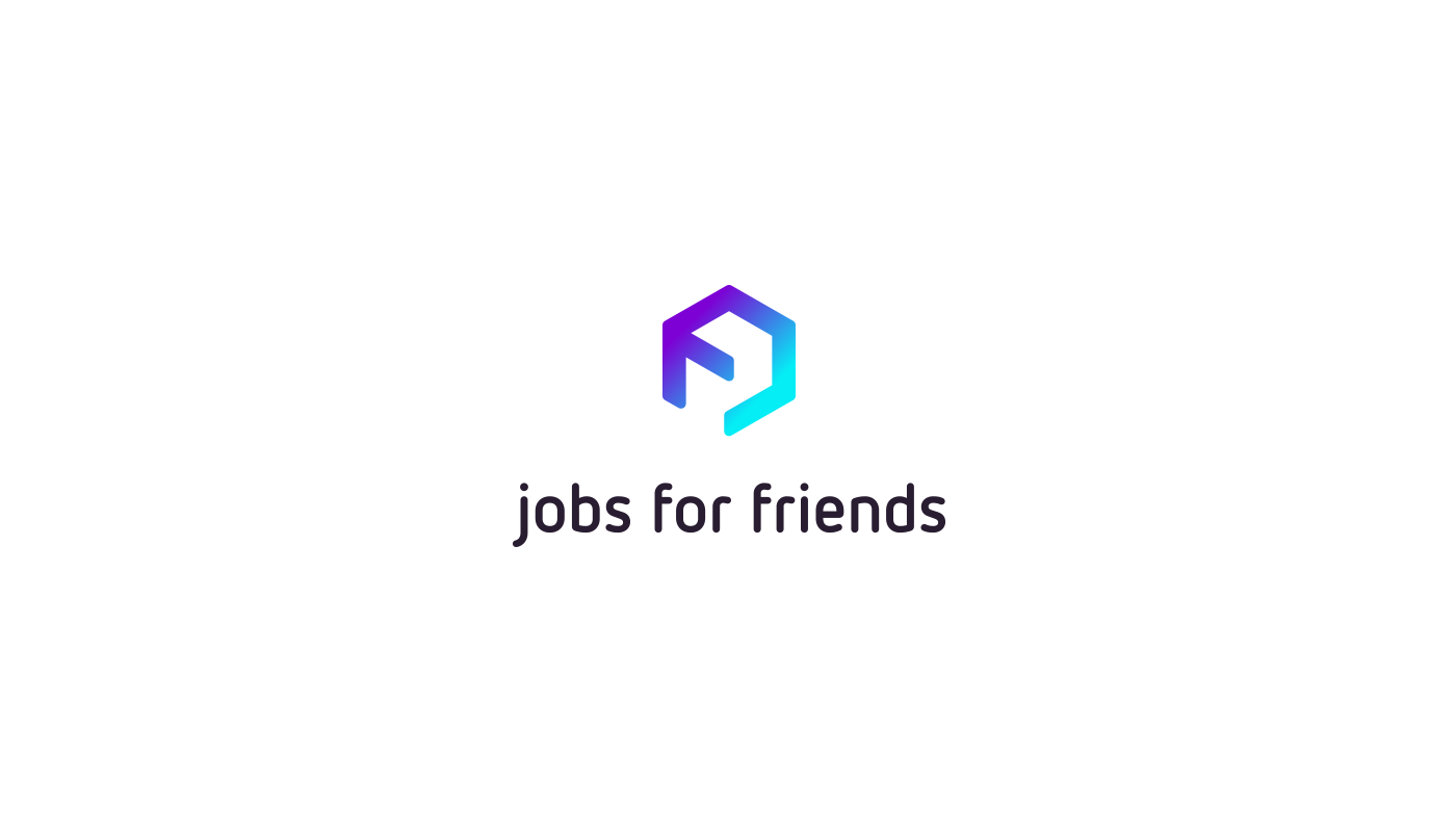 Jobs For Friends logo by upstruct