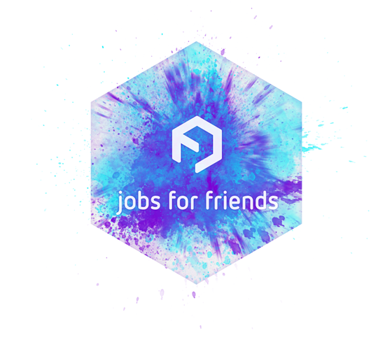 Jobs For Friends - Logo by upstruct