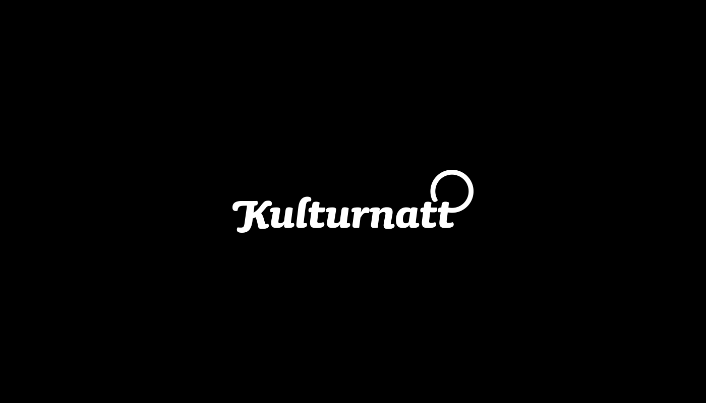 Kulturnatt logo by upstruct