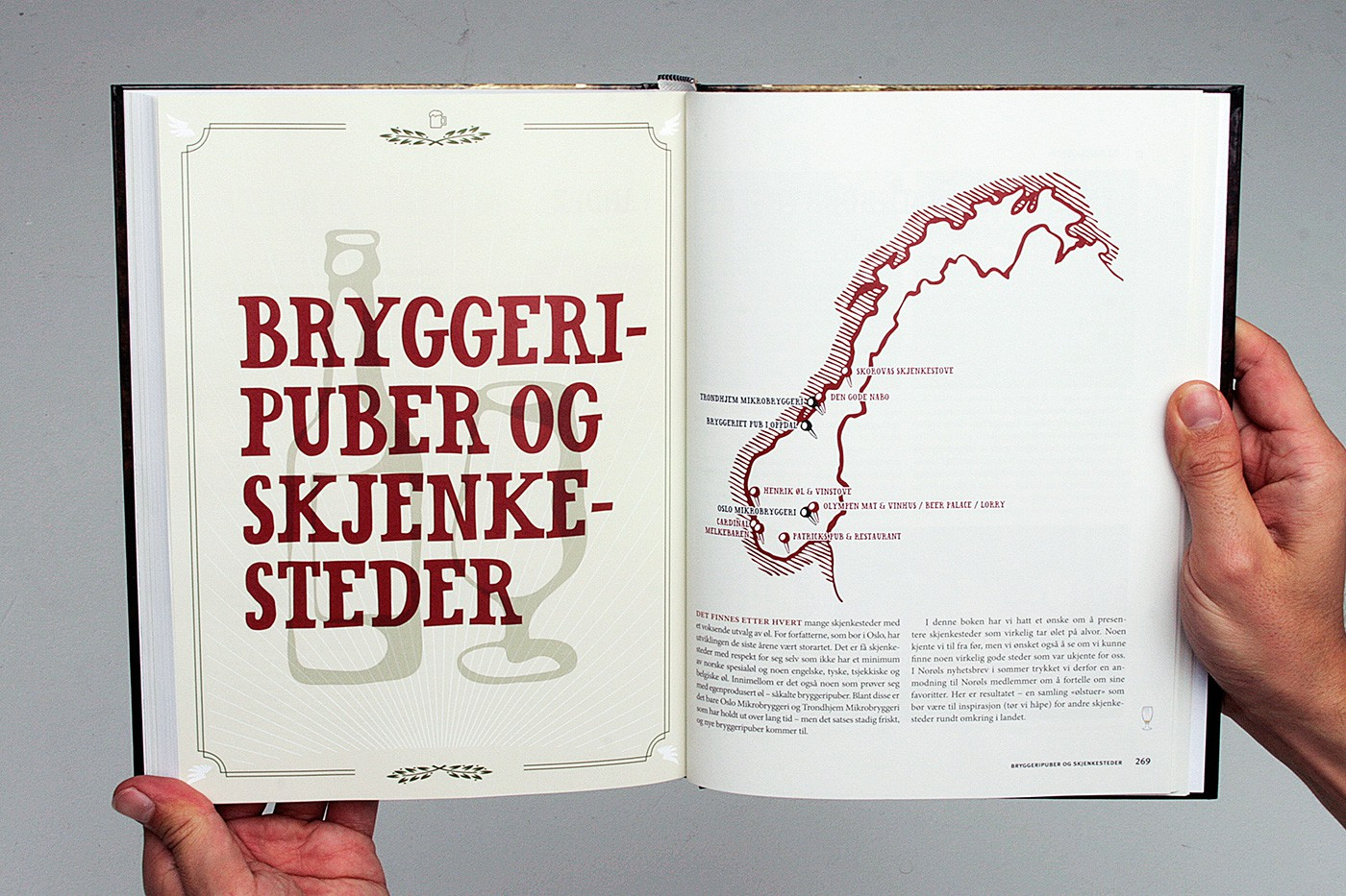 Norsk Øl Book Design by upstruct