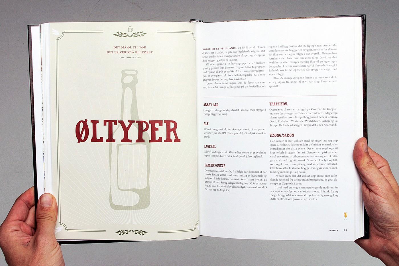 Norsk Øl Book Design by upstruct