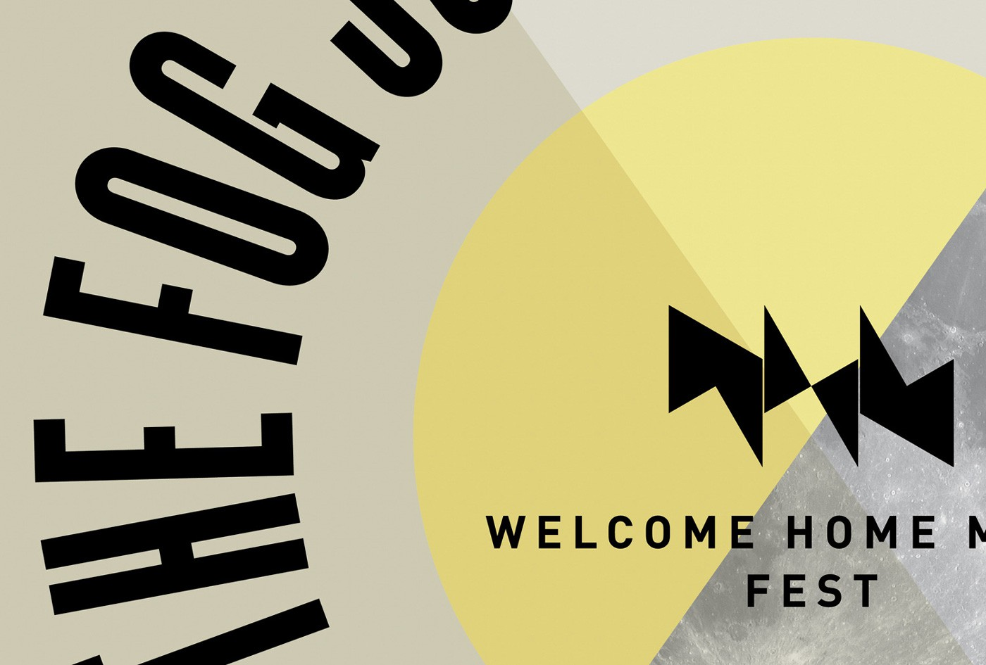 Welcome Home Music Fest Poster by upstruct