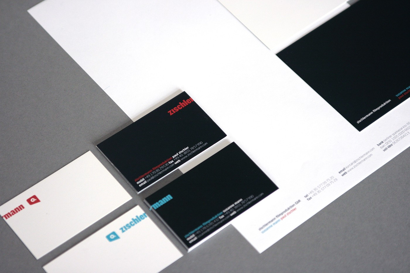 zischlermann brand design by upstruct